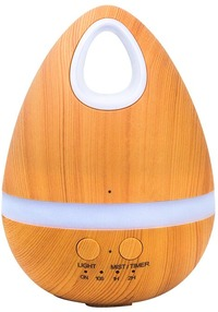 Crystal Aire - Natural Wood Aroma Diffuser