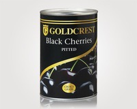 Goldcrest - Black Pitted Cherries (425g)