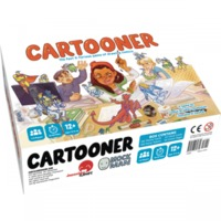 Cartooner: The Fast & Furious Game of Drawing Comics (Board Game) - Cover