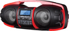 S Digital GB-3600 Nuke Junior Portable Bluetooth Speaker System (Black/Red)