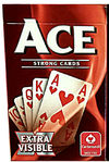 Ace - Extra Visible Playing Cards - Red (Card Game)