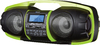 S Digital GB-3600 Nuke Junior Portable Bluetooth Speaker System (Black/Lime)