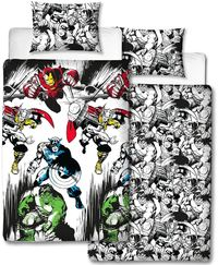 Marvel Comics - Crop 91 Rotary Duvet (Single) - Cover