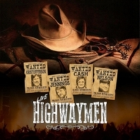 Johnny Cash/Kris Kristofferson/Willie Nelson/Waylon Jenning - Live Highwaymen (Vinyl) - Cover