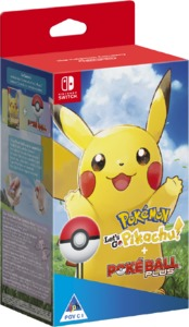 Pokémon: Let's Go, Pikachu! + Poké Ball Plus (Nintendo Switch) - Cover