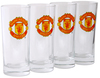Manchester United High Ball Glasses (Pack of 4)