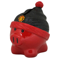 Manchester United Beanie Piggy Bank - Cover
