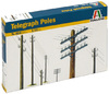 Italeri - 1/35 - Telegraph Poles (Plastic Model Kit)