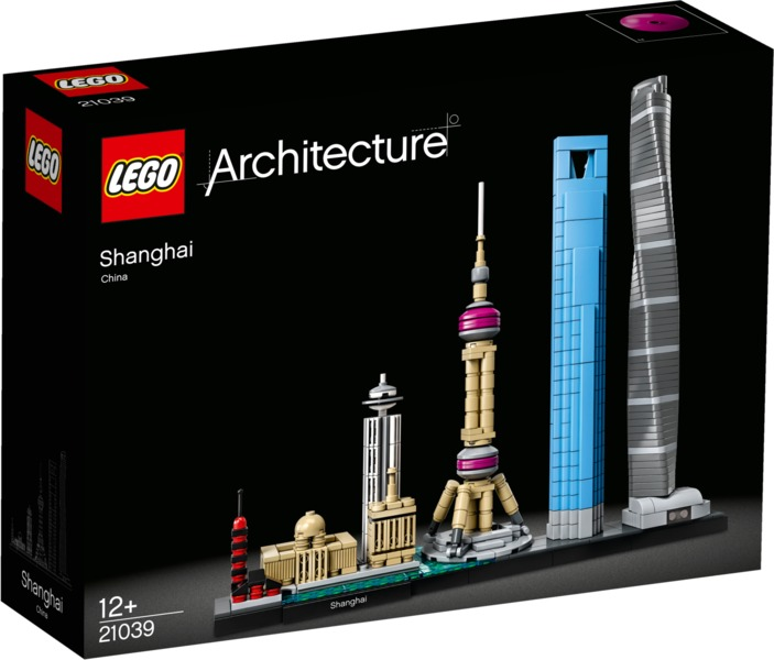 LEGO® Architecture - Skyline Collection: Shanghai