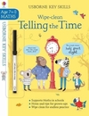 Wipe-Clean Telling the Time 7-8 - Holly Bathie (Paperback)