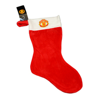 Manchester United Crest Christmas Stocking - Cover
