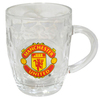 Manchester United Glass Tankard Cover