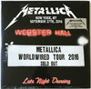 Metallica - Live At Webster Hall New York 27th September 2016 (Vinyl)
