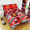 Manchester United Patch Duvet Set (Double)