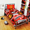 Manchester United - Patch Duvet Set (Single)