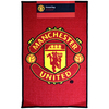 Manchester United - Printed Crest Rug Cover