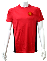 Manchester United Red Crest Mens T-Shirt (X-Large) - Cover