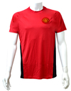 Manchester United Red Crest Mens T-Shirt (X-Large) Cover