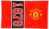 Manchester United Since Flag