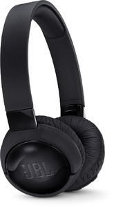 JBL TUNE600BTNC Wireless Bluetooth Active Noise Cancelling Headphones (Black) - Cover