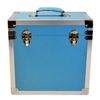 Light Blue - 50 LP Record Storage Carry Case (Record Box)