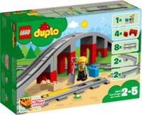 LEGO DUPLO® Town - Train Bridge and Tracks (26 Pieces) - Cover