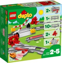 LEGO DUPLO® Town - Train Tracks (23 Pieces) - Cover