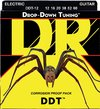 DR DDT-12 Drop Down Tuning Series 12-60 Extra Heavy Nickel Plated Steel Electric Guitar Strings