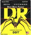 DR DDT7-10 Drop-Down Tuning Series 10-56 7 String Medium Nickel Plated Steel Electric Guitar Strings