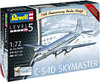 Revell - 1/72 - C-54D Skymaster 70th Anniversary Berlin Airlift Edition (Plastic Model Kit)