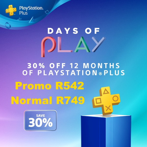 PlayStation Plus 12 Month Membership 30% Off Promo (PS3/PS4/PS VITA)