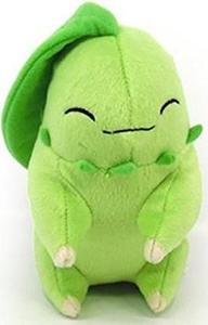 Pokémon - Sleeping Chikorita Legacy Plush (16 cm)