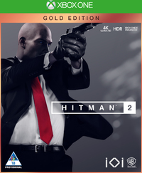 Hitman 2 - Gold Steelbook Edition (Xbox One) - Cover