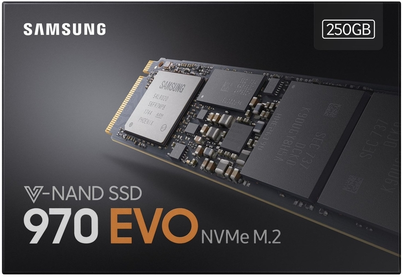 Samsung - 970 EVO 250GB M 2 Pcie Nvme Internal Solid State Drive