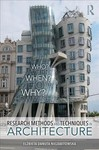 Research Methods and Techniques in Architecture - Elzbieta Danuta Niezabitowska (Paperback)