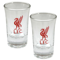 Liverpool - Club Crest Shot Glass (Pack of 2) - Cover