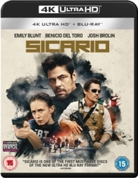Sicario (Blu-ray) - Cover