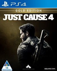 Just Cause 4 - Gold Edition (PS4) - Cover