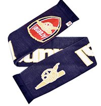 Arsenal - Gunners Navy Scarf - Cover