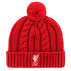 Liverpool - Club Crest Cable Knitted Hat Cover