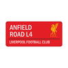 Liverpool - Club Crest & Logo Colour Street Sign