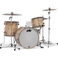 PDP Concept Maple Classic Series 3pc Maple with Walnut Hoops Acoustic Drum Kit - Shells Only (13 16 22 Inch)