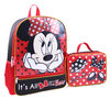 DISNEY Minnie Mouse Backpack With Lunch Bag Set