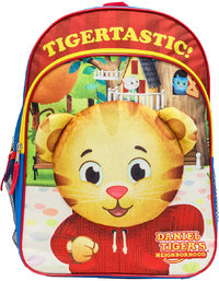 Daniel Tiger's Neighborhood - 16 Inch Youth Backpack - Cover