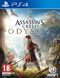 Assassin's Creed: Odyssey (PS4) - Cover