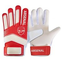 Arsenal - Club Crest Goalkeeper Gloves (10-14 Years) - Cover