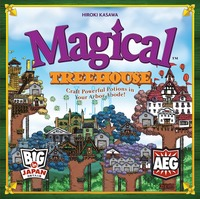 Magical Treehouse (Board Game) - Cover