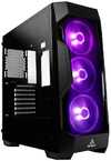 Antec DF500 RGB Dark Fleet Series Mid-Tower Gaming Chassis - Black