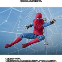 Spider-Man: Homecoming - S.H.Figuarts Spiderman Home Made Suit & Option Act Wall Action Figure (Figure) - Cover