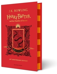 Harry Potter and the Chamber of Secrets - Gryffindor Edition - J.K. Rowling (Hardcover)